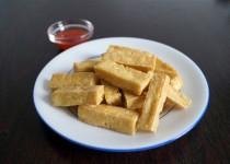 Gebakken Tofublokjes
