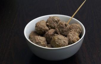 Gepocheerde gehaktballen (1)