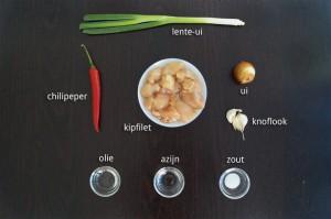Ingrediënten voor Chimichurri Kipspiesjes