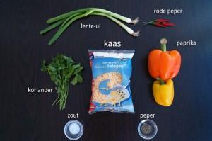 Ingrediënten voor Quesedilla Recept