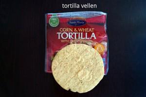 Ingrediënten voor Quesedilla Recept - vervolg